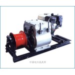 供应新型8吨机动绞磨,紧线式机动绞磨,绞磨机