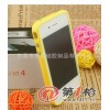 秒杀!信号圈 硅胶+PC+电镀按键外壳iPhone4S/4G手机边框保护套