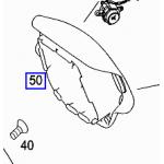 出售奔驰S350安全气囊