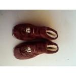 毛巾绣棉鞋D02