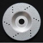 石英石磨片 钎焊金刚石角磨片