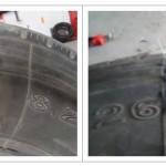 大轮胎修复