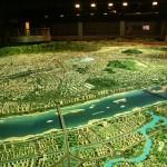 城市展览模型声光像系统