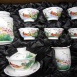 韩式陶瓷茶具定做 陶瓷茶具定做厂家 功夫茶具套装
