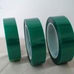 绿色高温胶带 PET绿色硅胶带0.06厚度