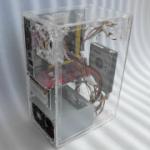 厚实耐用亚克力有机玻璃制品电脑机箱面板