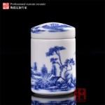 西安膏方陶瓷罐定做 南宁膏方罐厂家 500克陶瓷罐价格