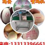 小型鸡蛋喷码机,符合环保标准的鸡蛋喷码机多少钱一台?