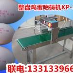 鸡蛋上喷字的机器,鸡蛋上的墨水符合标准的喷码机