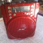 先科带一键录音功能唱戏机WI-07