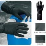 雷克兰EC30F经典橡胶防化手套