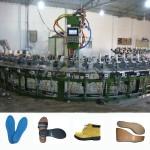 佛山绿州供应聚氨酯机设备 PU鞋垫半自动生产设备