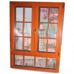 木铝复合内开窗