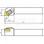 供应京瓷KYOCERA一般外径车削用刀杆