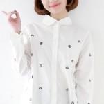 黛依尚女士衬衫