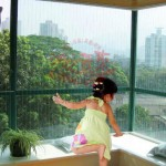 杭州儿童隐形防护网价格防护栏报价