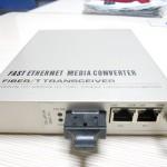 光路科技百兆一光两电网管光纤收发器