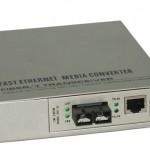 光路科技千兆网管光纤收发器