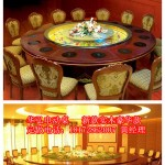 江西火锅餐桌批发火锅店餐桌定做卡座定做实木火锅桌椅定做