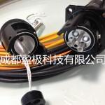 8芯野战光缆车壁连接器-08式合肥沈阳甘孜