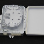 光纤分纤箱、48芯塑料材质光纤分纤箱